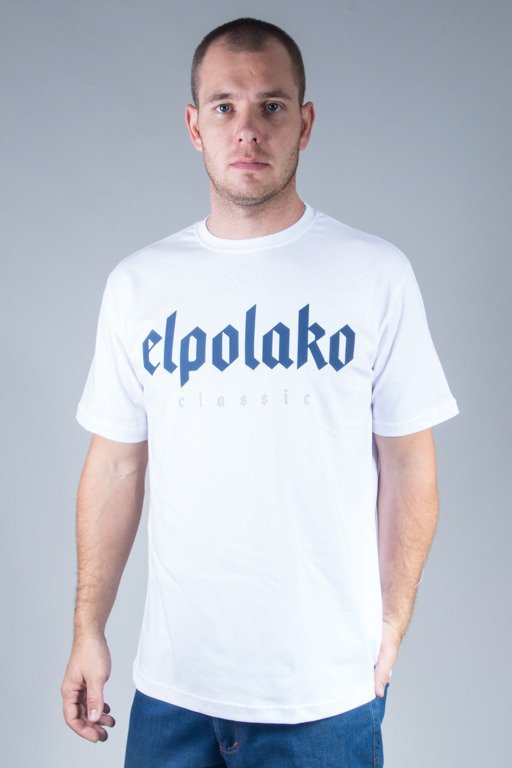 EL POLAKO T-SHIRT OLD CLASSIC WHITE