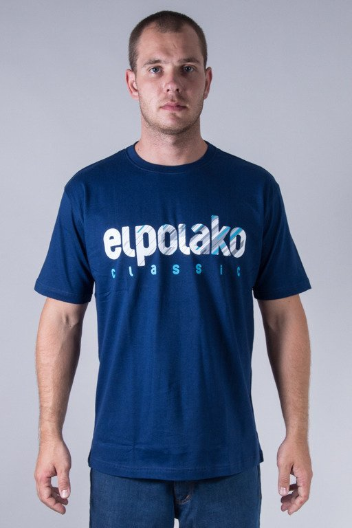 EL POLAKO T-SHIRT SHADOW CLASSIC NAVY