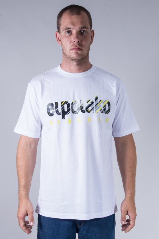 EL POLAKO T-SHIRT SHADOW CLASSIC WHITE
