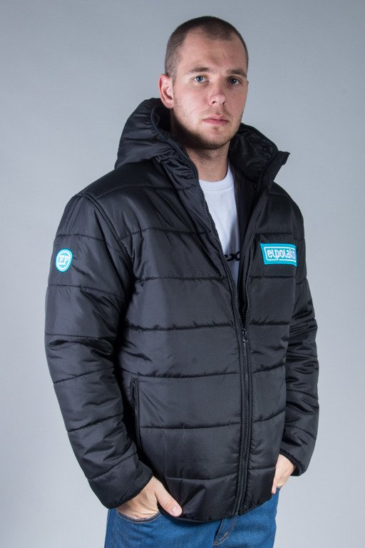 EL POLAKO WINTER JACKET FLYERS NORTH BLACK