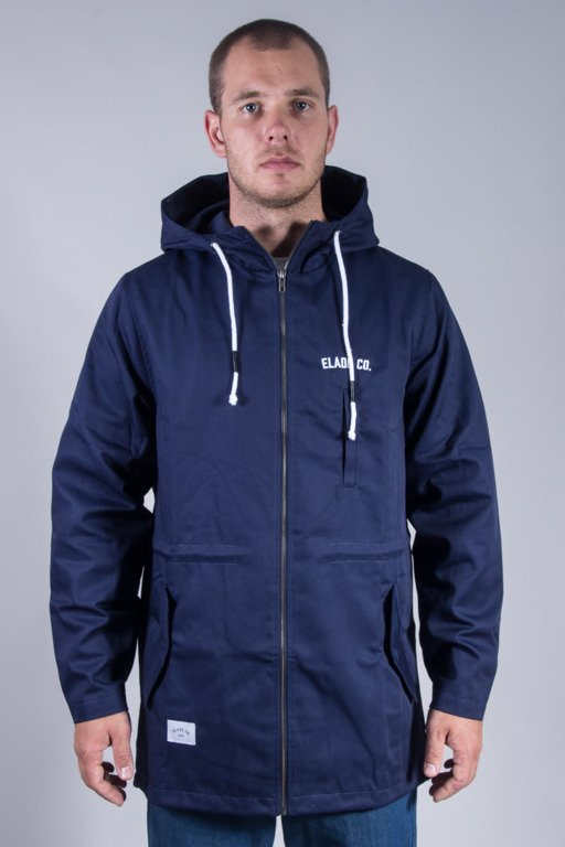 ELADE JACKET ELADE CO. PARKA NAVY