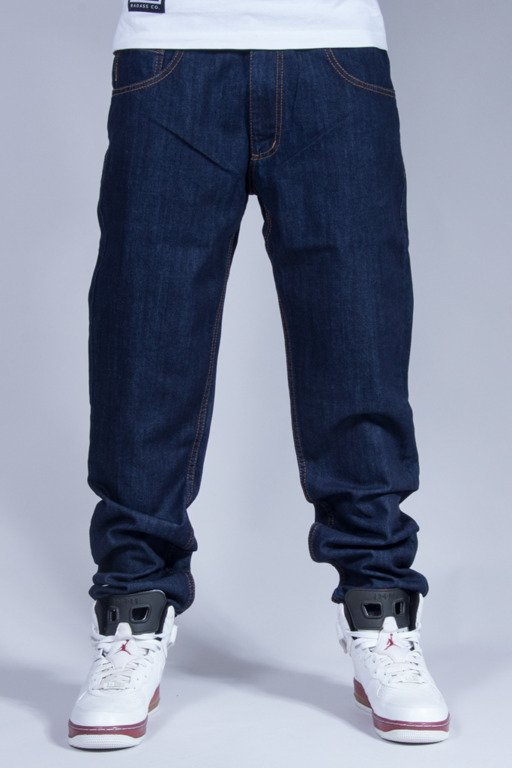 ELADE JEANS BLACK TICKET NAVY