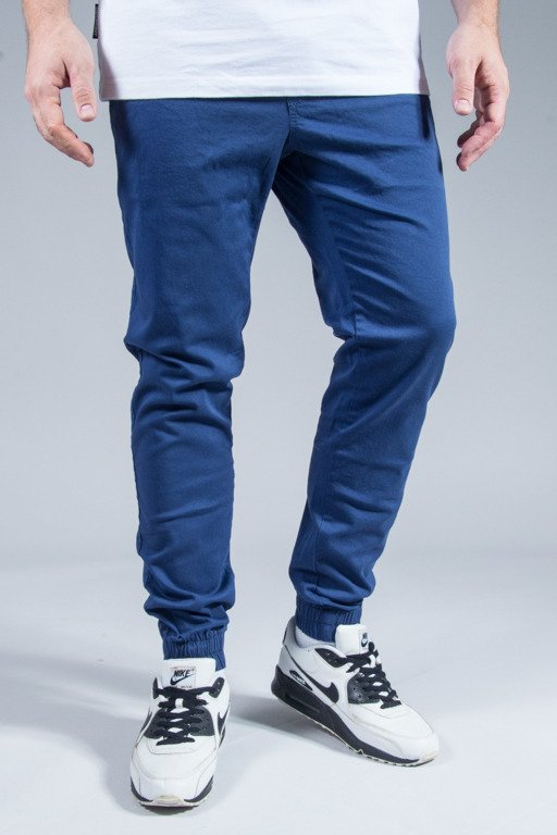 ELADE PANTS CHINO JOGGER BLUE