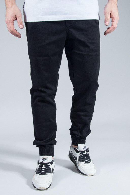 ELADE PANTS CHINO JOGGER II BLACK