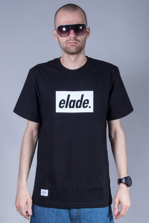ELADE T-SHIRT BOX LOGO BLACK