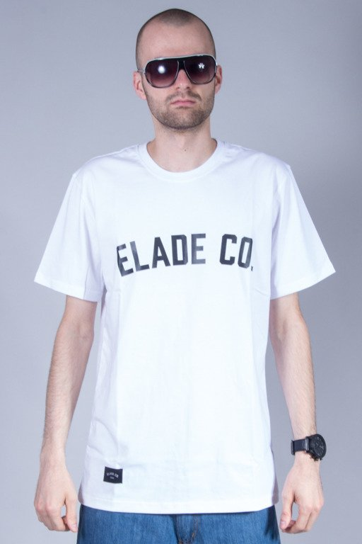 ELADE T-SHIRT COLLAGE WHITE