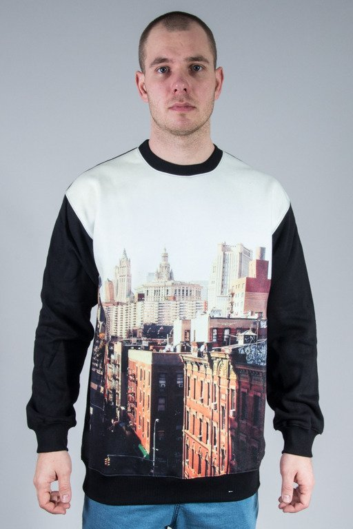 EQUALIZER CREWNECK CITY BLACK