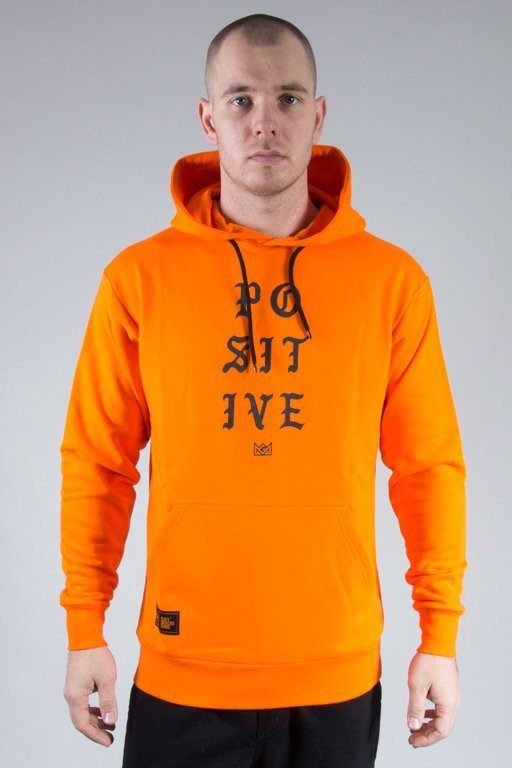GANJA MAFIA HOODIE POSITIVE ORANGE