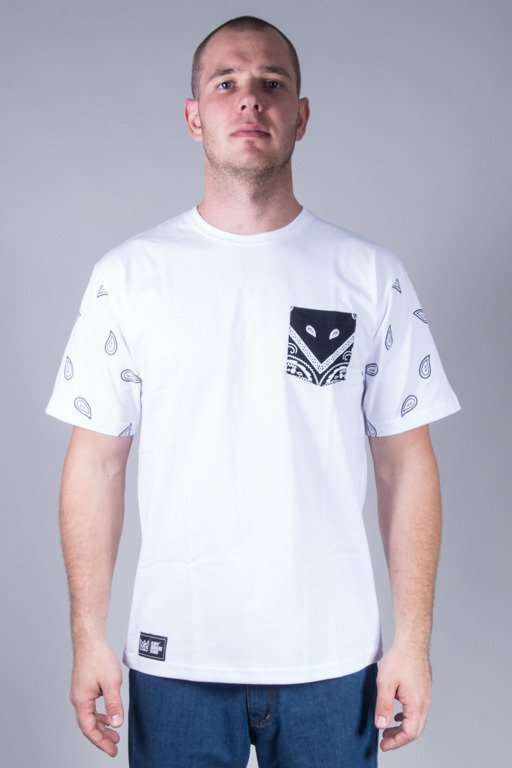GANJA MAFIA T-SHIRT OGM POCKET WHITE