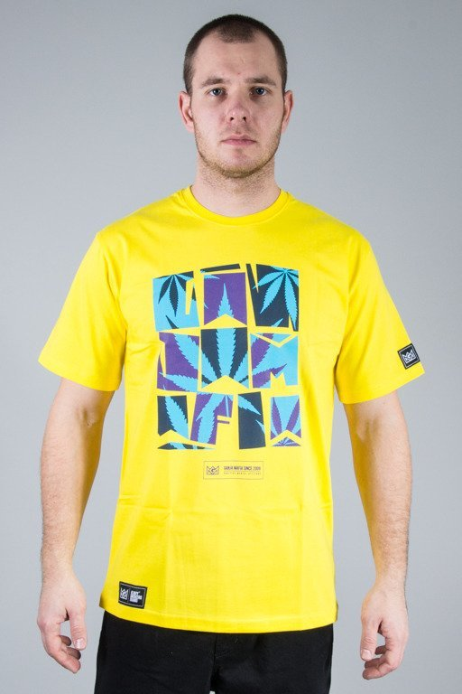 GANJA MAFIA T-SHIRT SUMMER YELLOW