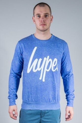 HYPE BLUZA CYAN SPACKLE MULTI