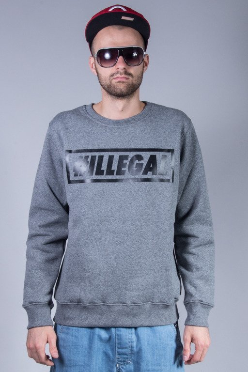 ILLEGAL CREWNECK KLASYK GREY