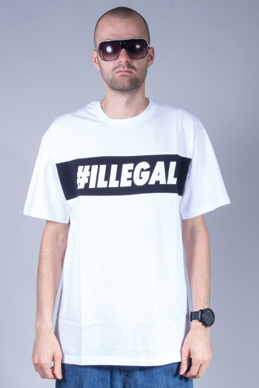 ILLEGAL T-SHIRT BOX WHITE