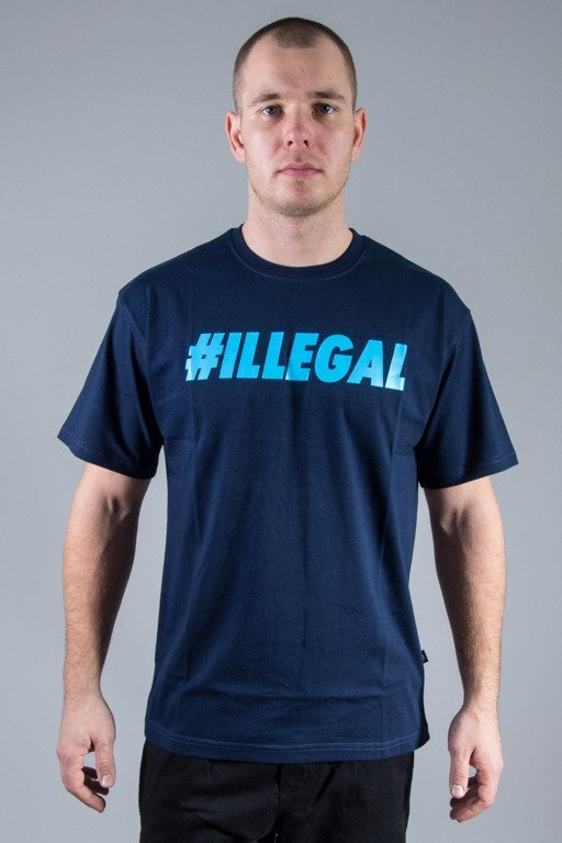 ILLEGAL T-SHIRT ILLEGAL NAVY