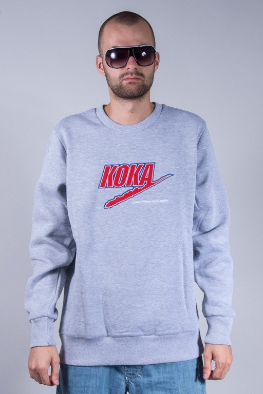 KOKA CREWNECK FAKE GREY