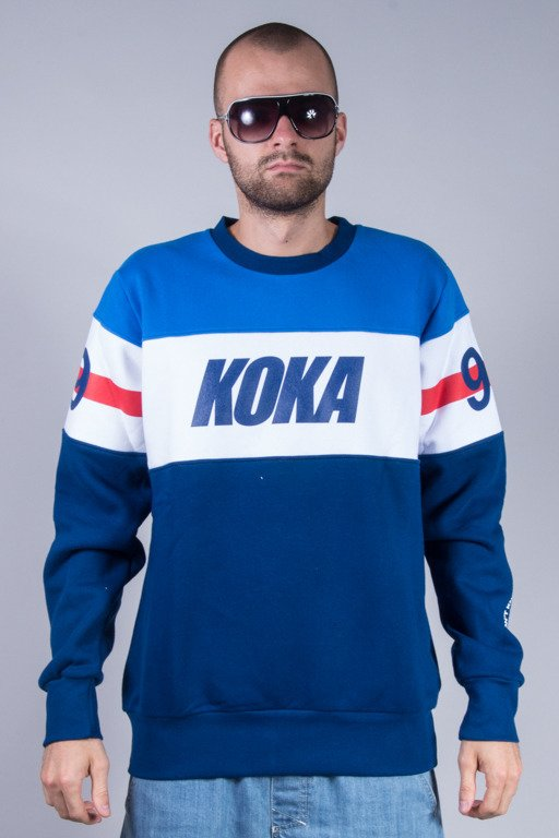 KOKA CREWNECK STRIPES BLUE