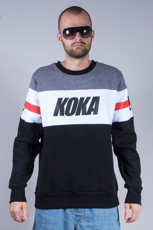 KOKA CREWNECK STRIPES GREY