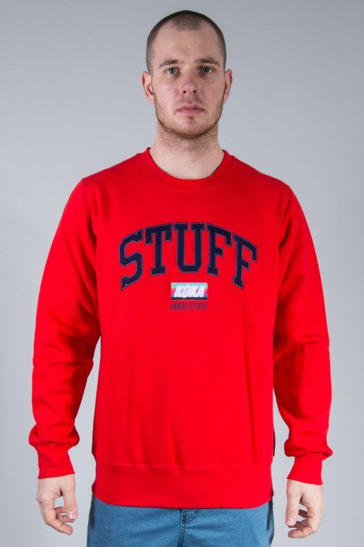 KOKA CREWNECK VINTAGE STUFF RED