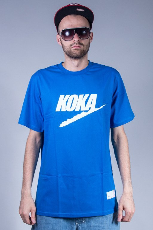 KOKA T-SHIRT FAKE 90 BLUE