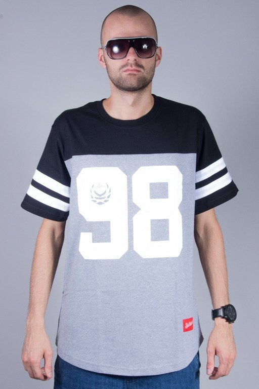 KOKA T-SHIRT HALL STREET BLACK-MELANGE