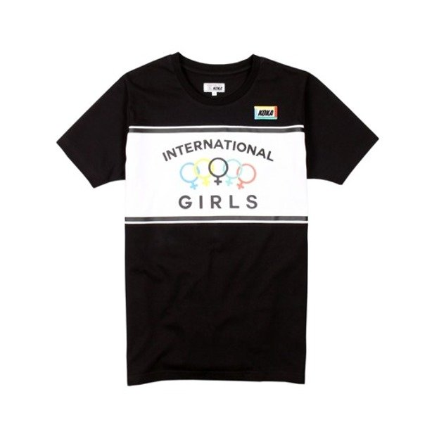 KOKA WMNS T-SHIRT KINGS HIGHWAY BLACK