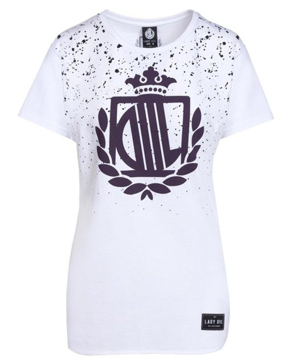 LADY DIIL T-SHIRT PAINT WHITE
