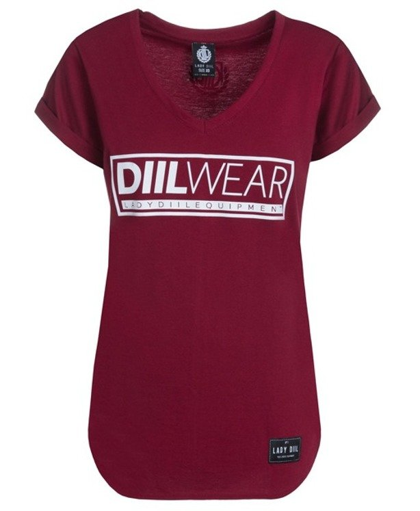 LADY DIIL T-SHIRT WEAR BRICK