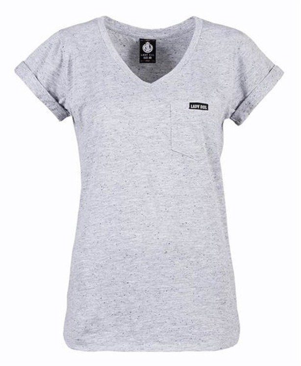 LADY DIIL T-SHIRT WOMAN POCKET MELANGE