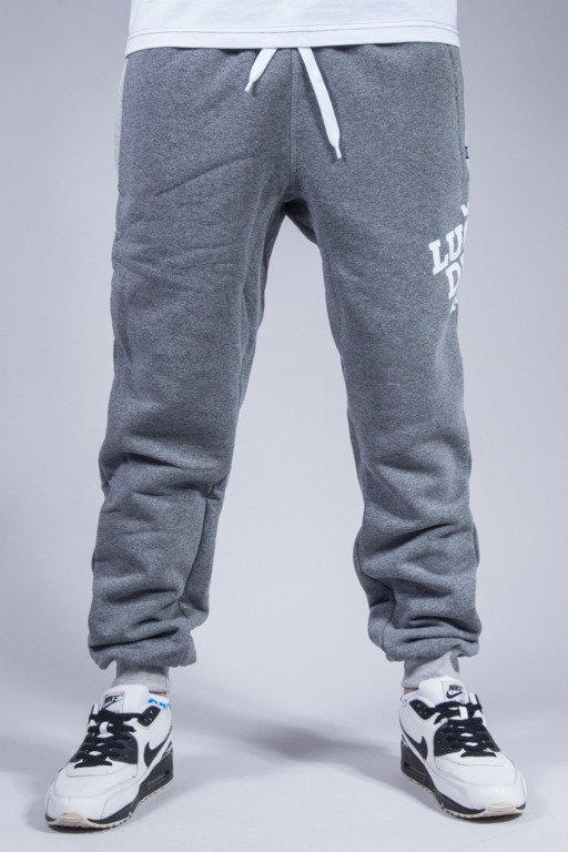 LUCKY DICE SWEATPANTS SLANT GREY