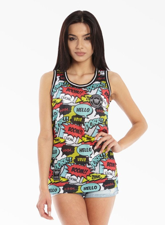 LUCKY DICE TANK TOP GIRL JERSEY KOMIX