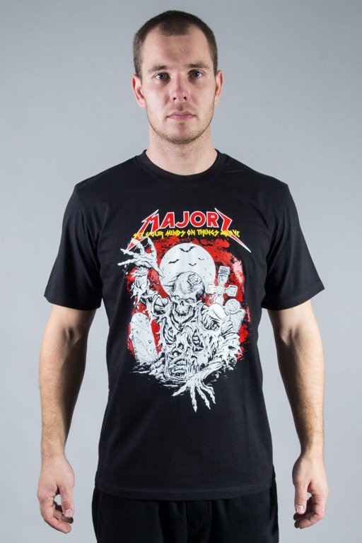 MAJOR T-SHIRT MAJORZOMBI BLACK