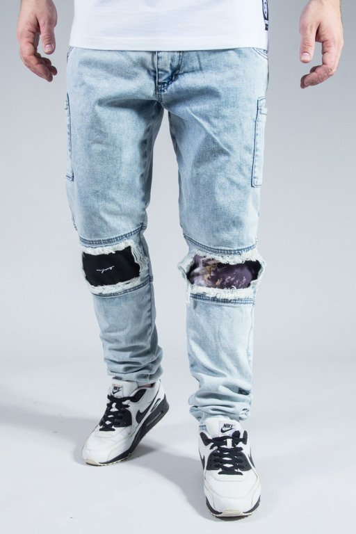 MAJORS PANTS JEANS WASHED DENIM