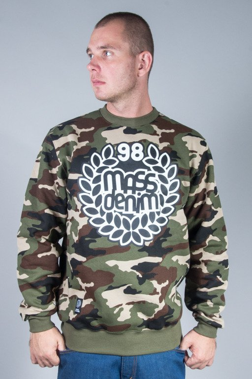 MASS CREWNECK BASE CAMO