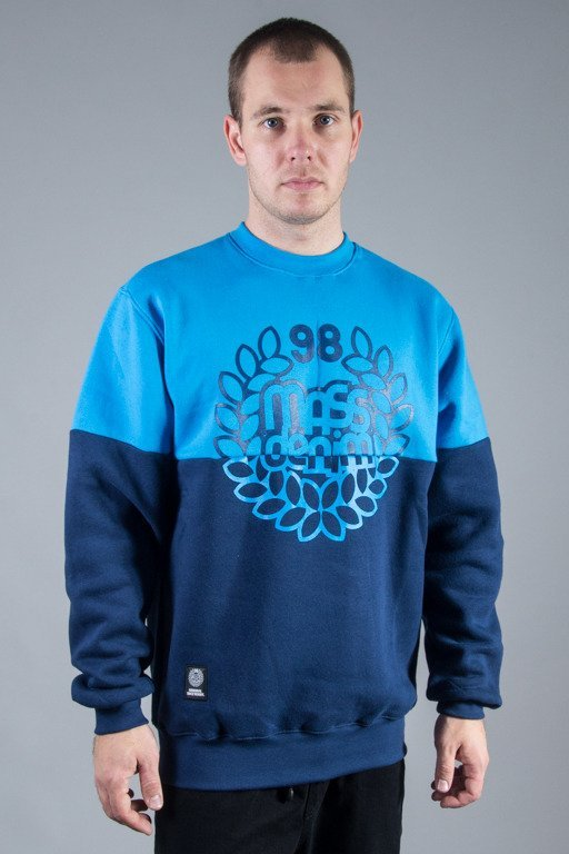 MASS CREWNECK BASE CUT BLUE