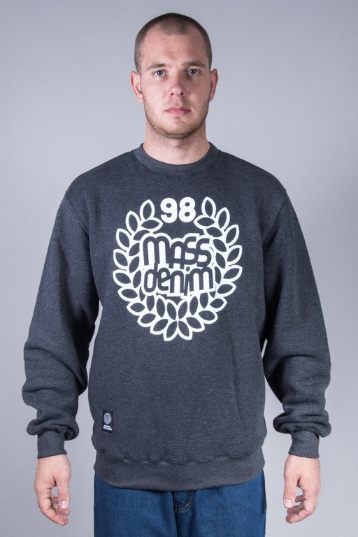 MASS CREWNECK BASE GREY