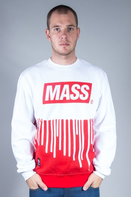 MASS CREWNECK COVER WHITE