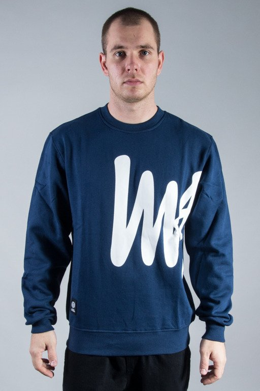 MASS CREWNECK SIGNATURE BIG NAVY