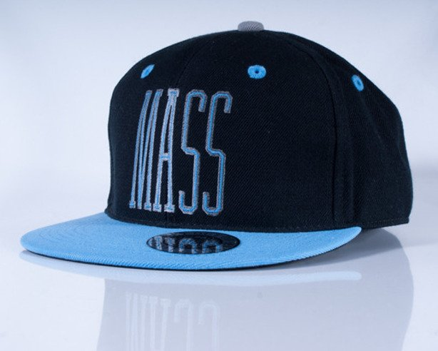 MASS CZAPKA FULLCAP FIRST BLACK-BLUE