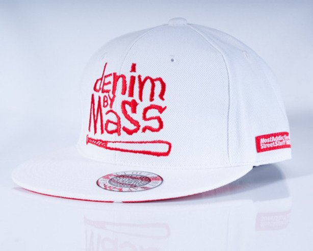 MASS CZAPKA FULLCAP NAUGHTY WHITE