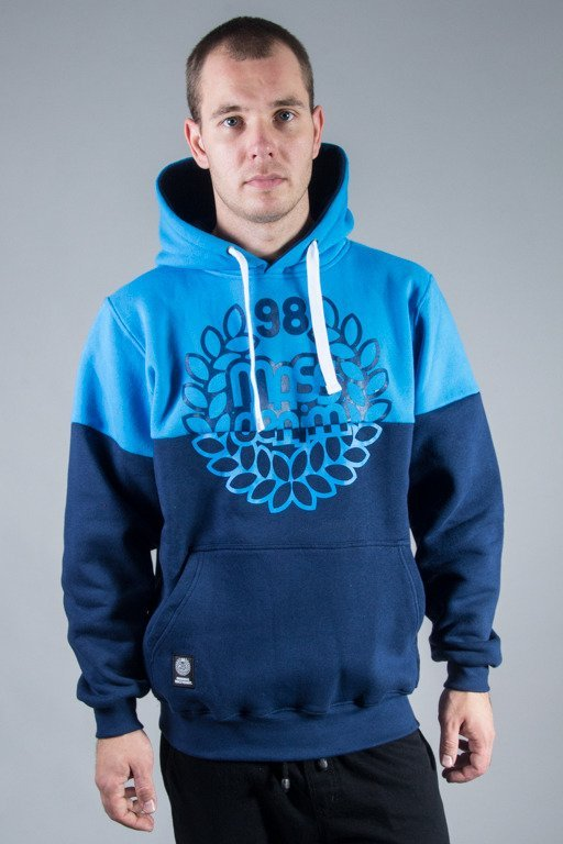 MASS HOODIE BASE CUT BLUE