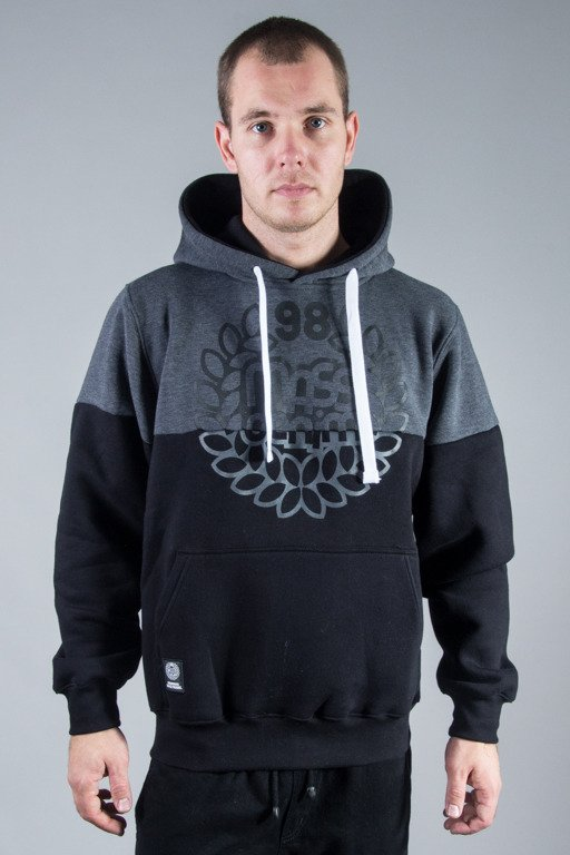 MASS HOODIE BASE CUT GRAFIT-BLACK