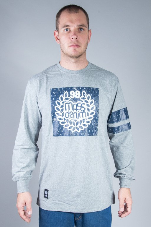 MASS LONGSLEEVE CHAMPION GREY