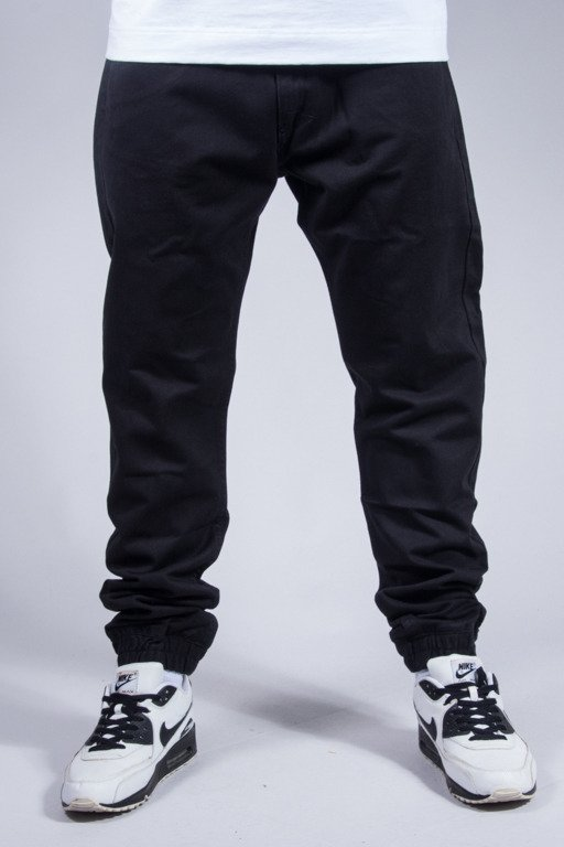 MASS PANTS CHINO JOGGER BLACK