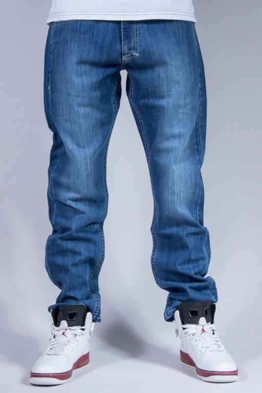 MASS SPODNIE JEANS GLORY BLUE