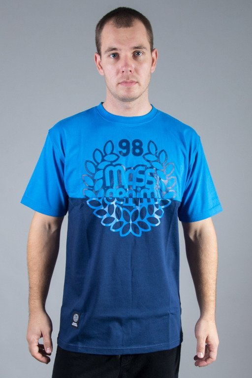 MASS T-SHIRT BASE CUT BLUE