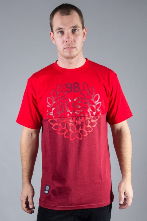 MASS T-SHIRT BASE CUT RED