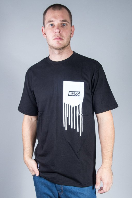 MASS  T-SHIRT POCKET COVER BLACK