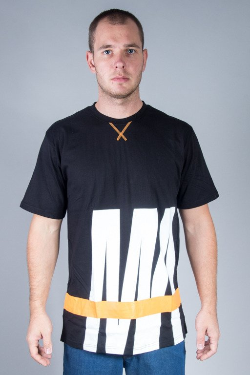 MASS T-SHIRT SPLIT BLACK