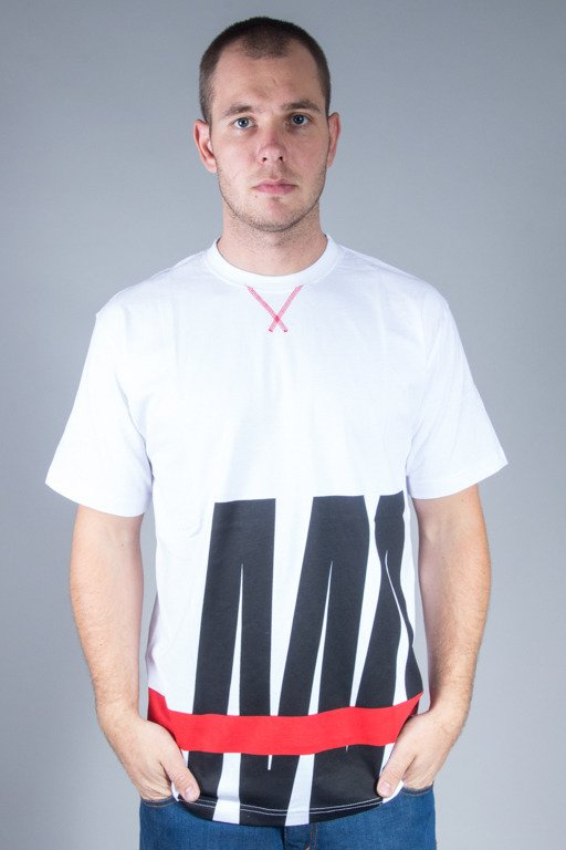 MASS T-SHIRT SPLIT WHITE