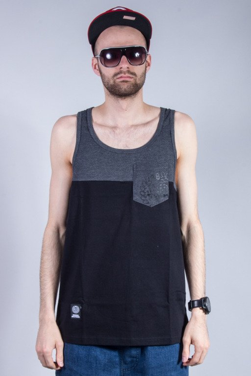 MASS TANK TOP POCKET BASE GREY